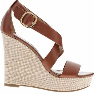 Banana Republic Isabel Wedge Sandal, Size 8.5